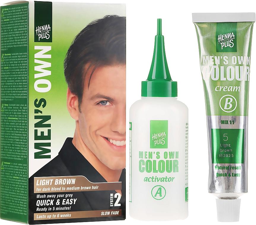 Power Shot zur Graukaschierung für Männer - Henna Plus Men Own Hair Colouring