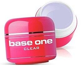 Düfte, Parfümerie und Kosmetik UV Aufbaugel klar - Silcare Base One Clear