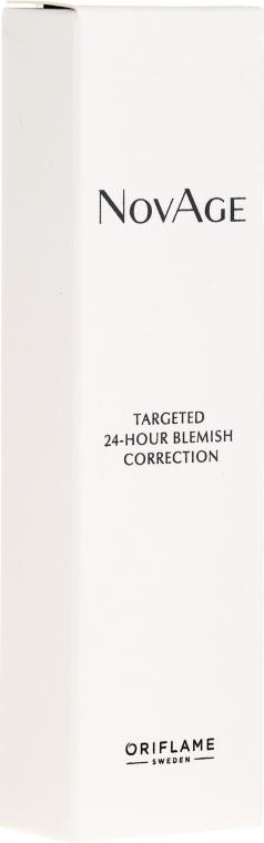 Korrigierendes Anti-Pickel Gesichtsgel mit 24-Stunden-Wirkung - Oriflame NovAge Targeted 24-Hour Blemish Correction — Bild N1
