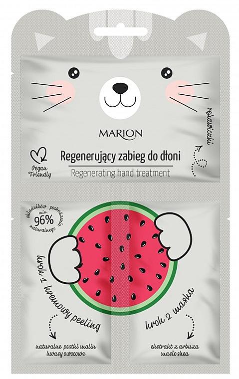 Regenerierende Handbehandlung mit Wassermelone - Marion Funny Animals Regenerating Hand Treatment