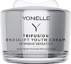 Düfte, Parfümerie und Kosmetik Verjüngende Gesichtscreme mit Lifting-Effekt - Yonelle Trifusion Endolift Youth Cream