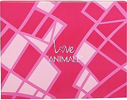 Düfte, Parfümerie und Kosmetik Animale Love - Duftset (Eau de Parfum 100ml + Körperlotion 90ml + Duschgel 90ml + Eau de Parfum (mini) 7.5ml)