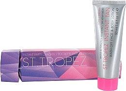 Düfte, Parfümerie und Kosmetik Bräunungslotion für Gesicht und Körper - St. Tropez Party Cracker Instant Tan Lotion Wash Off Face & Body Light/Medium