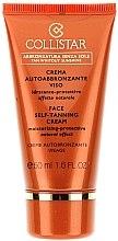 Düfte, Parfümerie und Kosmetik Feuchtigkeitsspendende selbstbräunende Gesichtscreme - Collistar Face Self-Tanning