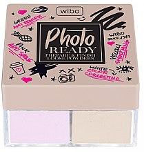 2in1 Korrigierende Make-up Base und Fixierpuder - Wibo Photo Ready Loose Powder — Bild N1