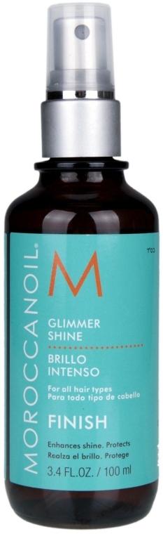 Haaröl-Spray für mehr Glanz mit Arganöl - MoroccanOil Glimmer Shine — Bild N2