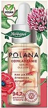 Düfte, Parfümerie und Kosmetik Verjüngendes Öl-Serum für das Gesicht mit Schlafmohn, Beinwell und Mariendistel - Polana