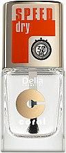 Düfte, Parfümerie und Kosmetik Schnelltrockender Nagelüberlack - Delia Speed Dry Top Coat