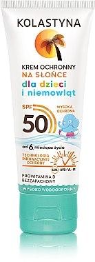 Wasserfeste Sonnenschutzcreme für Kinder SPF 50 - Kolastyna — Bild N1