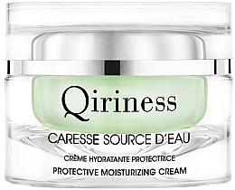 Düfte, Parfümerie und Kosmetik Feuchtigkeitsspendendes Creme-Gel für das Gesicht - Qiriness Caresse Source d'Eau Velvety Moisturizing Cream