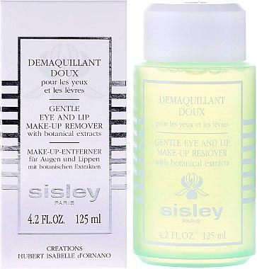 Make-up-Entferner für Augen und Lippen mit botanischen Extrakten - Sisley Gentle Eye And Lip Make-Up Remover With Botanical Extracts — Bild N2