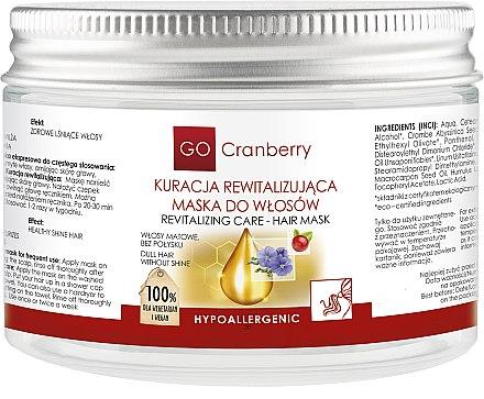 Jasmine Maske für erschöpftes Haar - GoCranberry Revitalizing Hair Mask — Bild N3