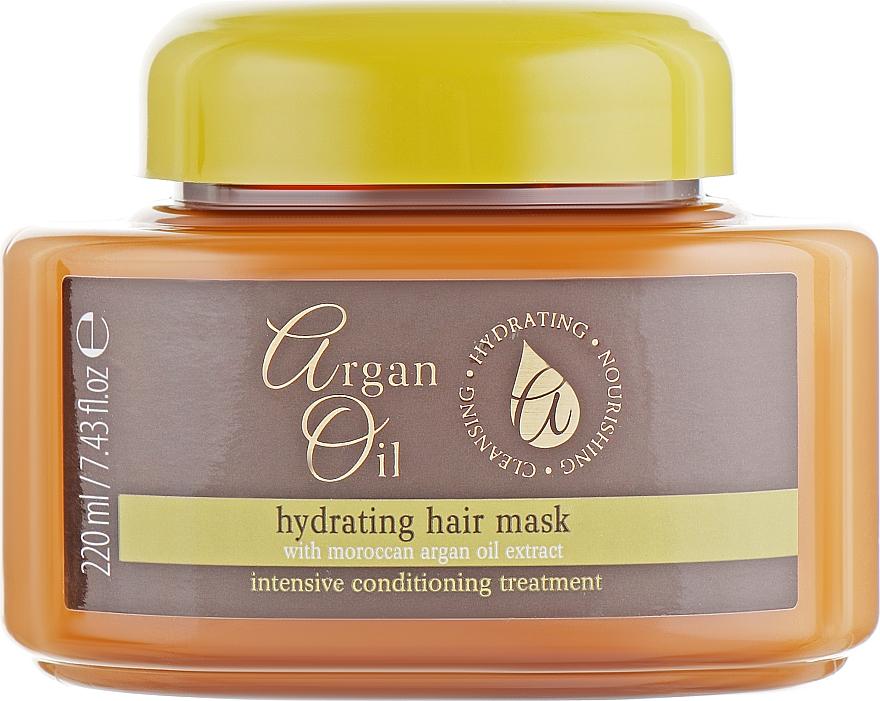 Haarmaske - Xpel Marketing Ltd Argan Oil Heat Hair Mask — Bild N1