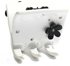 Düfte, Parfümerie und Kosmetik Haarklammer 228 weiß - Moliabal Milano Hair Clip