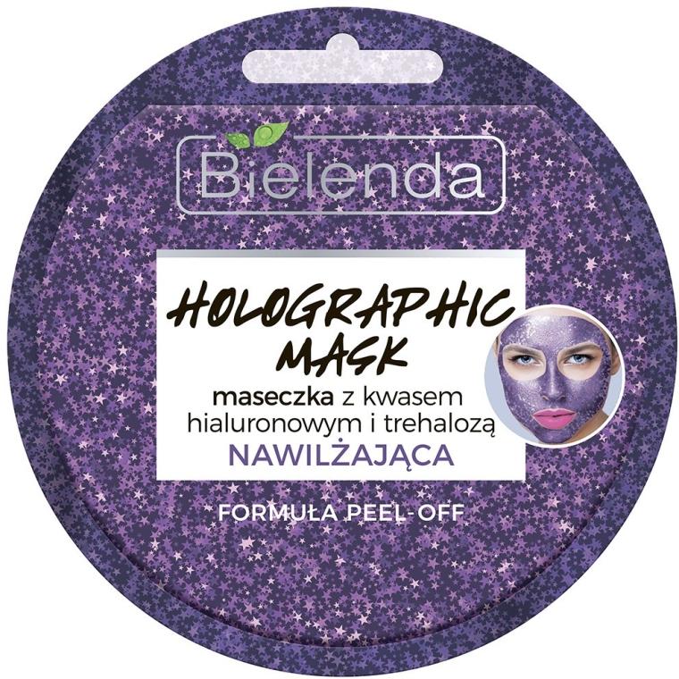 Gesichtsmaske mit Hyaluronsäure - Bielenda Holographic Mask Peel-Off — Bild N1