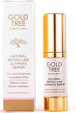 Anti-Aging-Gesichtsserum - Gold Tree Barcelona Natural Botox -Like Ultimate Serum — Bild N1