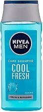 Vitalisierendes und erfrischendes Shampoo - Nivea For Men Cool Fresh Mentol Shampoo — Bild N3