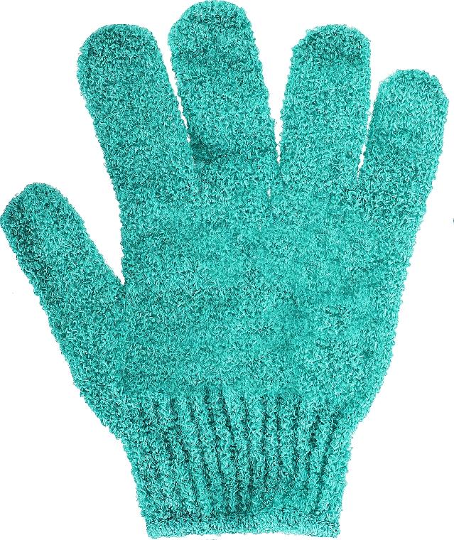 Waschlappen-Handschuh 499805 türkis - Inter-Vion — Bild N1