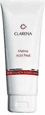 Handpeeling-Gel mit Säuren und Bambuspartikeln - Clarena Portulacia Hand Line Manus Acid Peel — Bild N1