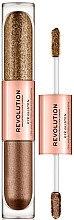 Düfte, Parfümerie und Kosmetik Flüssiger Lidschatten - Makeup Revolution Eye Glisten