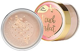 Düfte, Parfümerie und Kosmetik Loser Gesichtspuder - Too Faced Peach Perfect Mattifying Loose Setting Powder