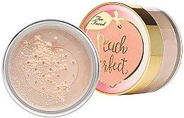 Düfte, Parfümerie und Kosmetik Loser Gesichtspuder - Too Faced Peach Perfect Mattifying Loose Setting Powder