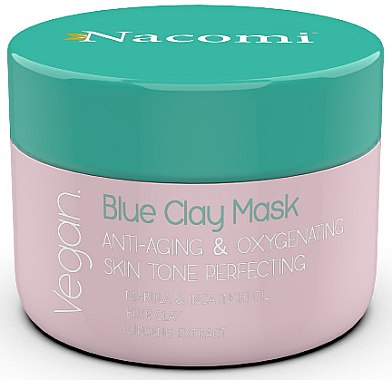 Anti-Aging Gesichtsmaske mit blauem Ton - Nacomi Blue Clay Mask Anti-Aging