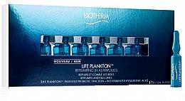 Düfte, Parfümerie und Kosmetik Regenerierende Gesichtsampullen mit Plankton und Hyaluronsäure - Biotherm Life Plankton