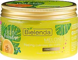 Feuchtigkeitsspendendes Zuckerpeeling für den Körper mit Melonenextrakt - Bielenda Exotic Paradise Peel — Bild N2