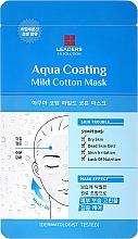 Düfte, Parfümerie und Kosmetik Gesichtsmaske - Leaders Ex Solution Aqua Coating Mild Cotton Mask