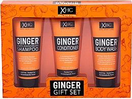Düfte, Parfümerie und Kosmetik Körperpflegeset - Xpel Marketing Ltd Ginger Gift Set (Shampoo 100 ml + Haarspülung 100 ml + Duschgel 100 ml)