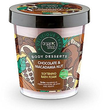 Badeschaum mit Schokolade und Macadamia - Organic Shop Body Desserts Chocolate & Macadamia Nut — Bild N1