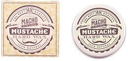 Düfte, Parfümerie und Kosmetik Schnurrbartwachs - Macho Beard Company Hard Natural Mustache Wax