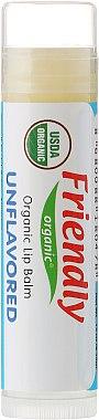 Bio-Lippenbalsam unparfümiert - Friendly Organic Lip Balm Unflavored — Bild N1