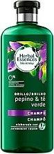 Düfte, Parfümerie und Kosmetik Regenerierendes Shampoo mit Gurke und grünem Tee - Herbal Essences Cucumber & Green Tea Shampoo