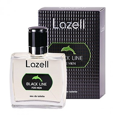 Lazell Black Line - Eau de Toilette  — Bild N1