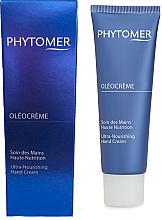 Düfte, Parfümerie und Kosmetik Feuchtigkeitsspendende und pflegende Handcreme - Phytomer Oleocreme Ultra-Nourishing Hand Cream