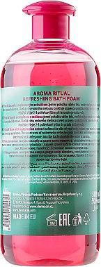 Erfrischendes Schaumbad mit Wassermelone - Dermacol Aroma Ritual Bath Foam Fresh Watermelon — Bild N2