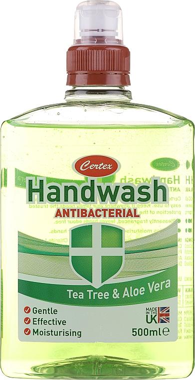 Antibakterielle flüssige Handseife mit Teebaum und Aloe Vera - Certex Antibacterial Tea Tree & Aloe Vera Handwash — Bild N1
