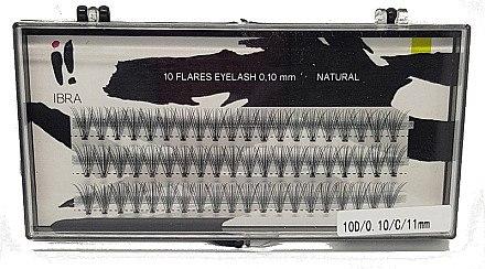 Wimpernbüschel C 11 mm - Ibra Eyelash Knot Naturals — Bild N1