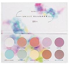 Düfte, Parfümerie und Kosmetik Lidschattenpalette - Zoeva Sweet Glamour Paleta