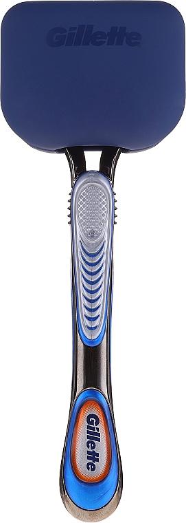 Reise-Rasierset - Gillette Fusion5 Razor Cracker (Rasierer 1 St. + Rasiermesser-Abdeckung) — Bild N3