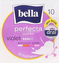 Düfte, Parfümerie und Kosmetik Damenbinden Perfecta Violet Deo Fresh Soft Ultra 10 St. - Bella
