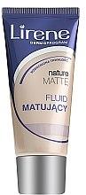 Düfte, Parfümerie und Kosmetik Foundation - Lirene Nature Matte Foundation
