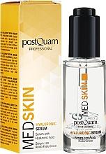 Düfte, Parfümerie und Kosmetik Gesichtsserum mit Hyaluronsäure - PostQuam Med Skin Hyaluronic Serum