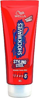 Haargel - Wella Pro Shockwaves Styling Steel Gel — Bild N1