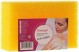 Düfte, Parfümerie und Kosmetik Anti-Cellulite Badeschwamm 6020 gelb - Donegal Cellulose Sponge