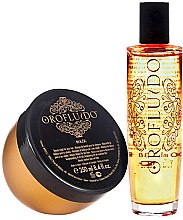 Düfte, Parfümerie und Kosmetik Haarpflegeset - Orofluido Promo Pack (Haarelixier 100ml + Haarmaske 250ml)