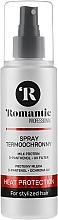 Düfte, Parfümerie und Kosmetik Haarspray mit Thermo-Schutz und Milchprotein - Romantic Professiona
