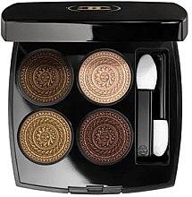 Düfte, Parfümerie und Kosmetik Lidschatten-Palette - Chanel Les 4 Ombres Exclusive Creation Limited Edition Quadra Eyeshadow